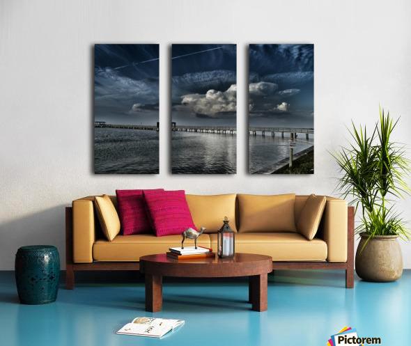 Private Property Split Canvas print
