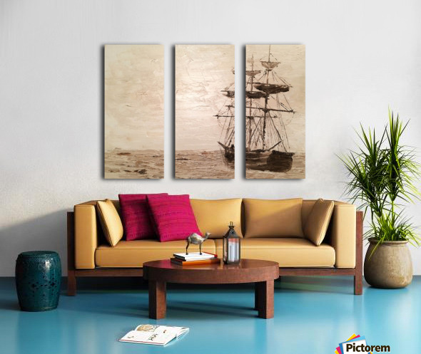 TaiPan Split Canvas print