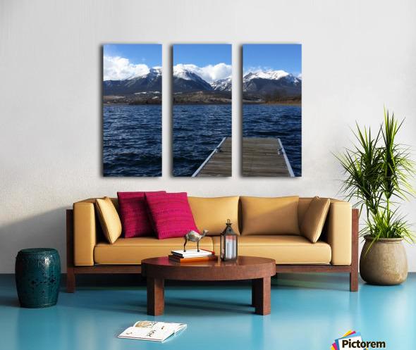 Denver Lake Split Canvas print