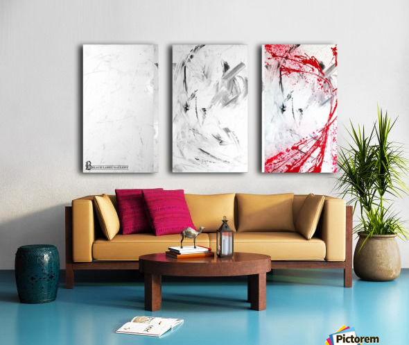Calamity 3 Split Canvas print