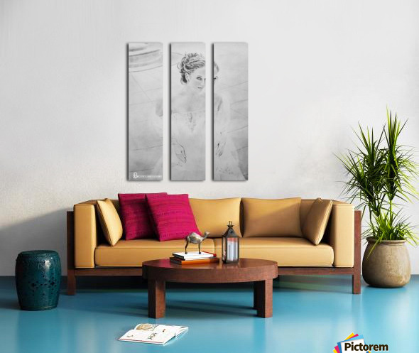 Bride BLG Split Canvas print