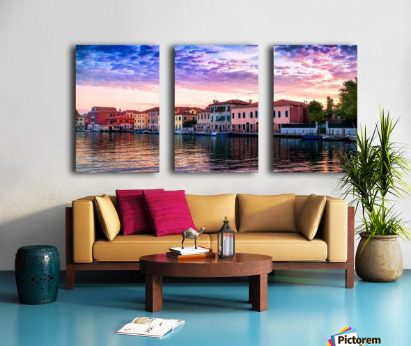 Murano Morning Split Canvas print