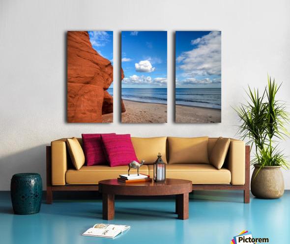 Magdalen Island Split Canvas print