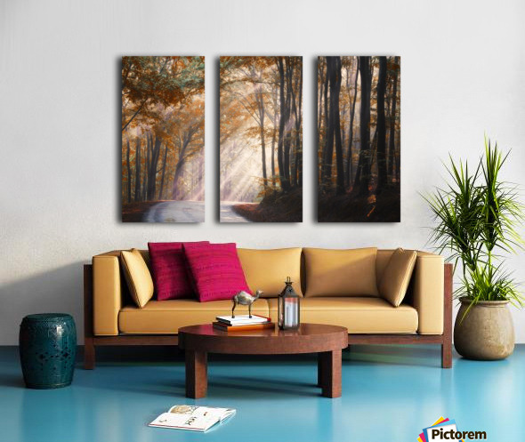 They coming from heaven Split Canvas print