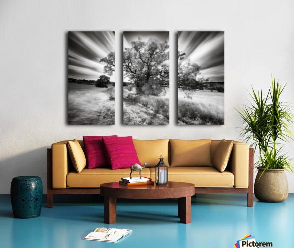 Keeper of the light Split Canvas print