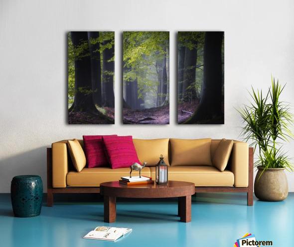Alley of replenishing energy Split Canvas print