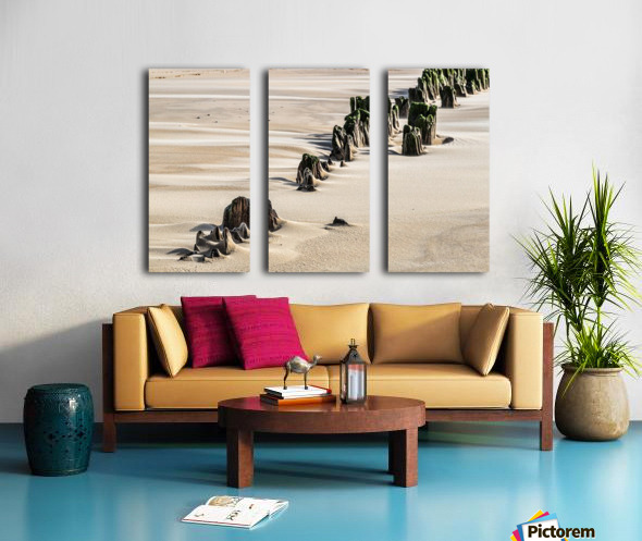 Forgotten Pier Split Canvas print