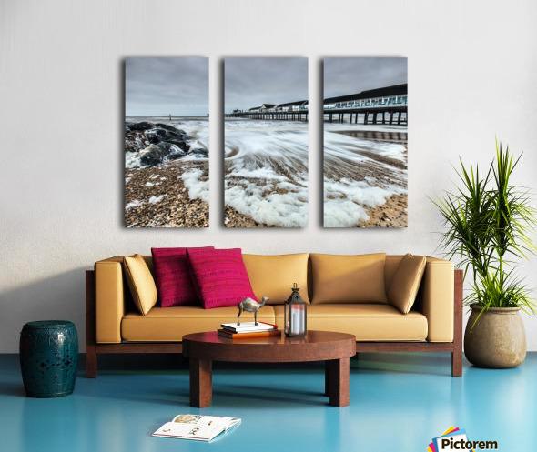 Southwold Pier, UK  Split Canvas print