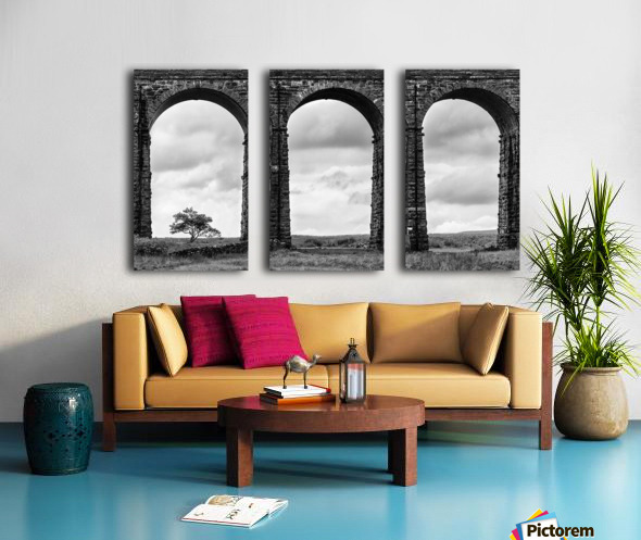 Settle Carlisle Viaduct Yorkshire England Split Canvas print