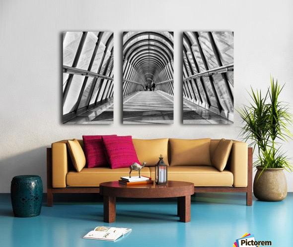 Parisienne Walkway Split Canvas print