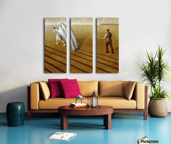 Useful Split Canvas print