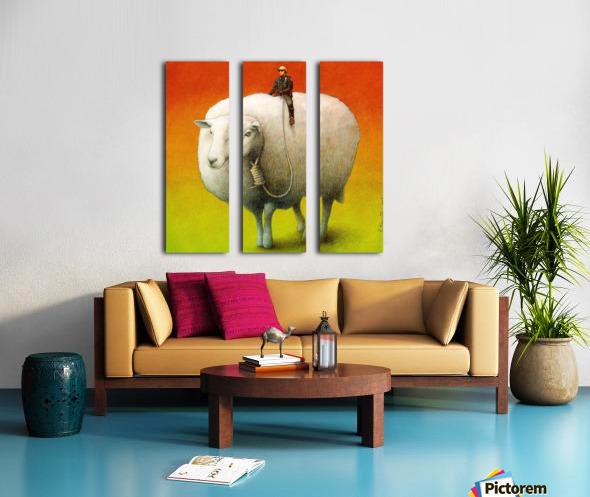 Sheep Control Toile Multi-Panneaux
