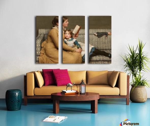 Alice in Wonderland Split Canvas print