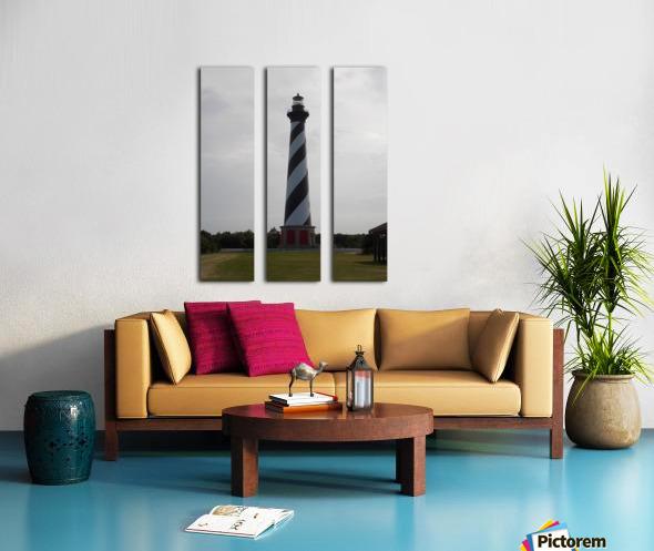 Cape Hatteras Lighthouse Split Canvas print