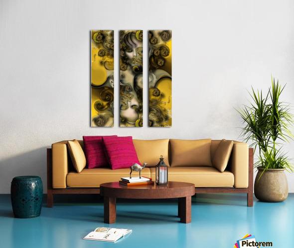 Movement with Venus Split Canvas print