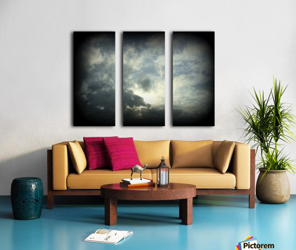 stunning Split Canvas print