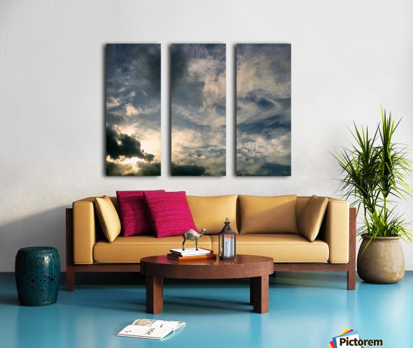 beautiful sky Split Canvas print