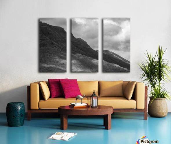 Light on the Mountain Split Canvas print