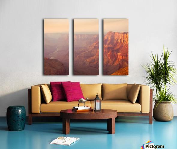 Red Canyon Split Canvas print