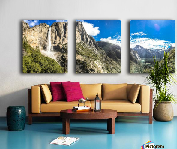 Land of Dreamers Split Canvas print