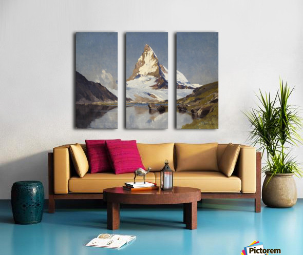 The Matterhorn Split Canvas print