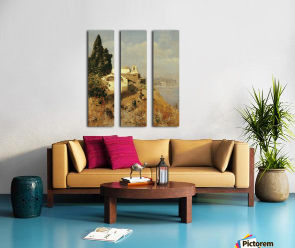 On Ischia in Casamicciola Split Canvas print