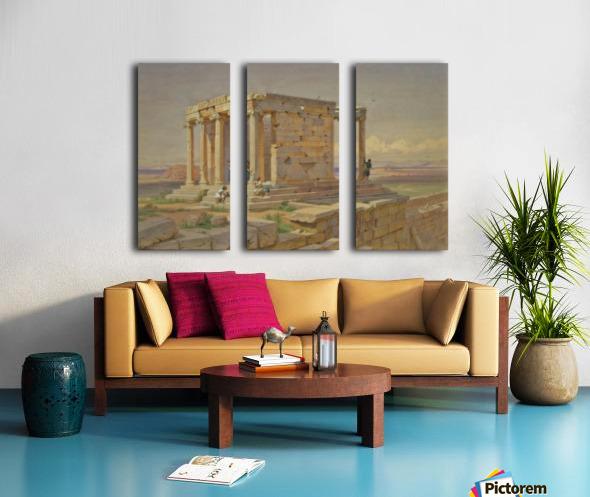 The Temple of Athena Nike Split Canvas print