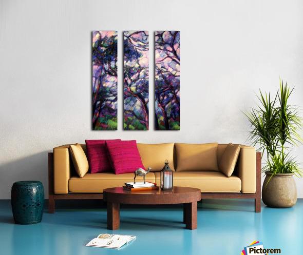 Meyendel - 26-02-15 Split Canvas print