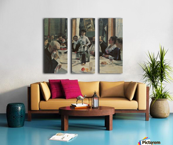 Song of the Bride Split Canvas print