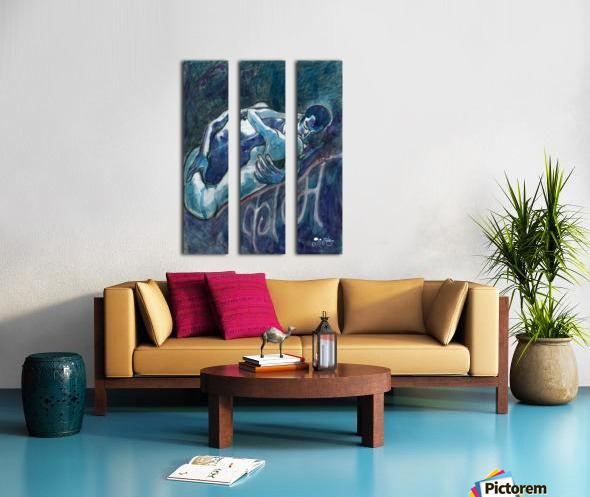 Kam Split Canvas print