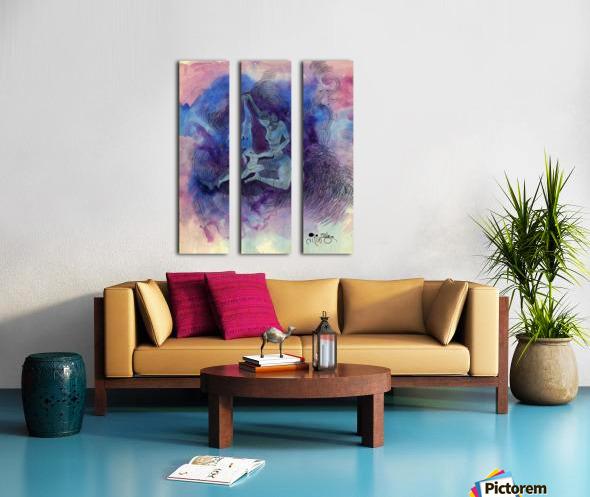 Her Child Split Canvas print