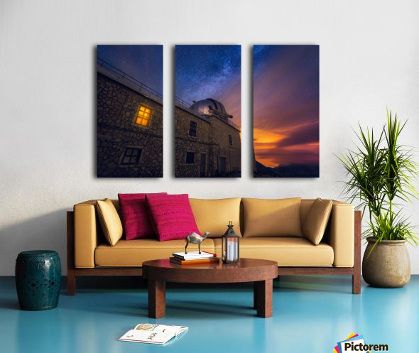 Reef Split Canvas print