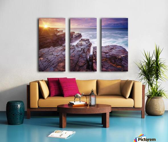 Featherweight Split Canvas print