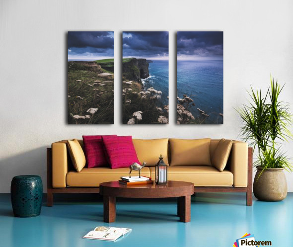 Funambulism Split Canvas print