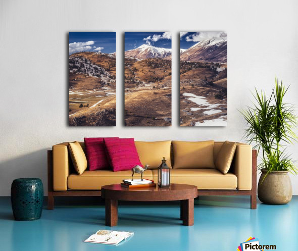 Chord Split Canvas print