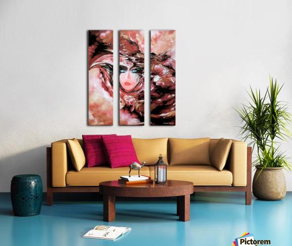 Self and Model  Split Canvas print