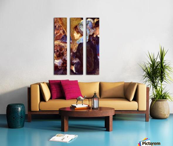 Le Cafe Concert by Renoir Split Canvas print