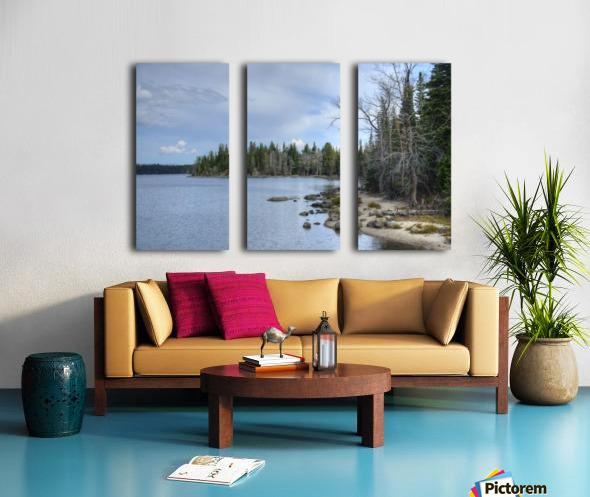 Dream Land Split Canvas print