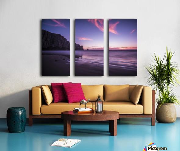 MorroBay Split Canvas print