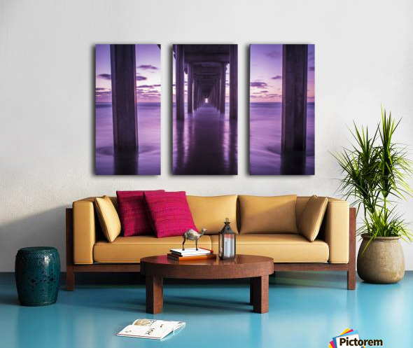 Infinite Loop Split Canvas print