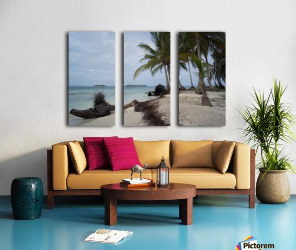 San Blas Island 4 Split Canvas print