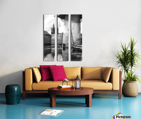 Schiedam - 11-08-16 Split Canvas print