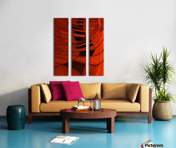 Carenza Split Canvas print