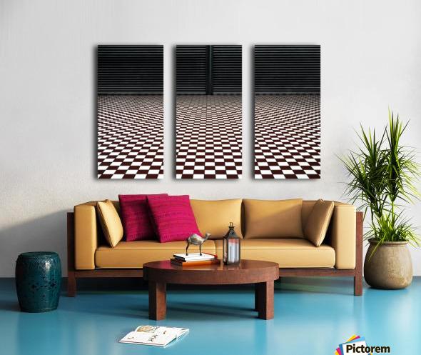 the hypnotic floor Toile Multi-Panneaux
