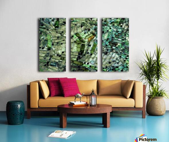 Earth Split Canvas print