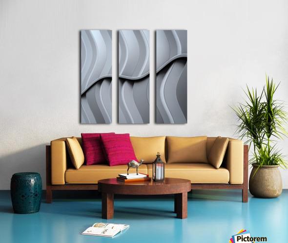 Just form,no function Split Canvas print