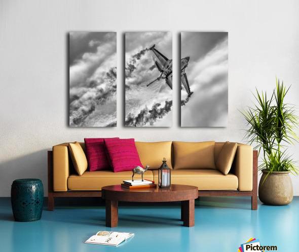 F-16 Solo Turk... Split Canvas print