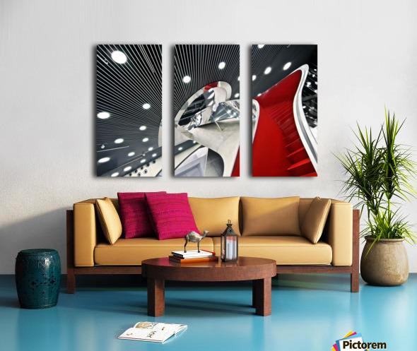Mumuth Split Canvas print