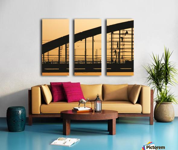 Remont Split Canvas print