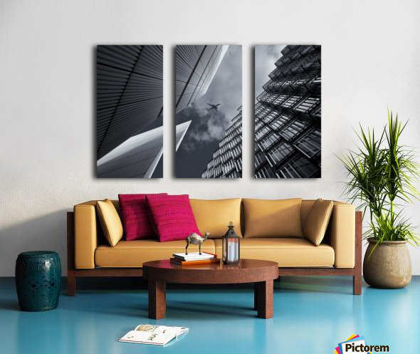 Skyway Split Canvas print